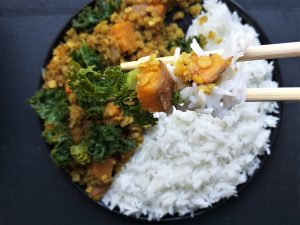 sweet potato dahl