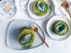 Spinach Pancake Oats Healthy